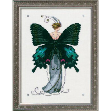 Nora Corbett - Miss Black Swallowtail Cross Stitch Chart