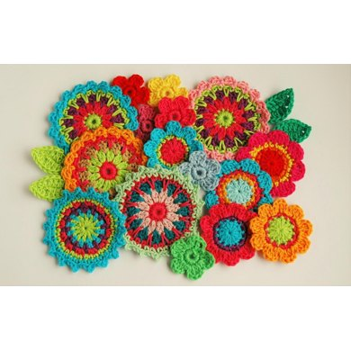 Crochet Flower Garden Crochet pattern by Carmen Heffernan