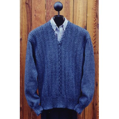 MS 121 V Neck Pullover Sweater
