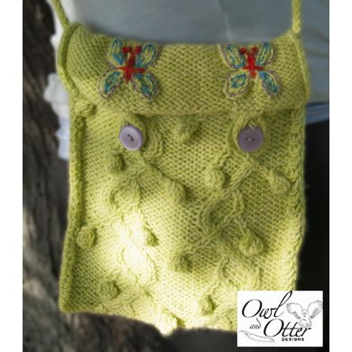 Twisted Vines and Butterflies Purse
