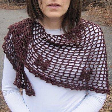 Filet à Papillons Shawl