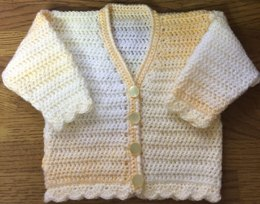 Baby/Child's V-Neck Cardigan - 1006