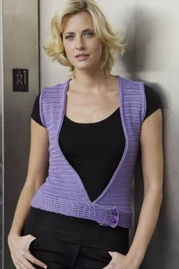 Milano Vest in Tahki Yarns Cotton Classic Lite