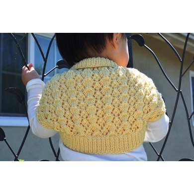 Easy and Lacy Baby Bolero (Shrug)