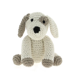 Hoooked Puppy Millie - 20 x 16 cm (Almond)