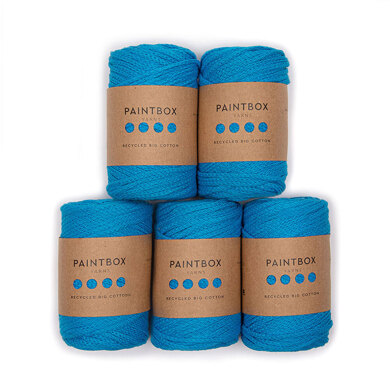 Paintbox Yarns Recycled Big Cotton 5er Sparset