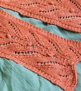 Lace Scarf in Classic Elite Yarns Firefly