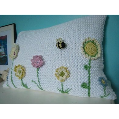 Spring Flowers Blanket and Cushion