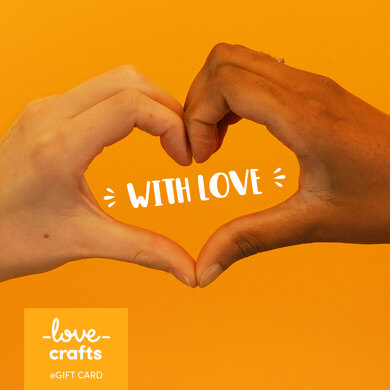 LoveCrafts eGift Card - With Love