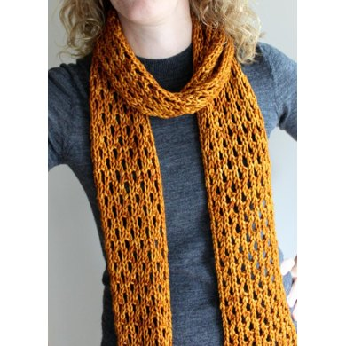 Lengthy Lace Scarf