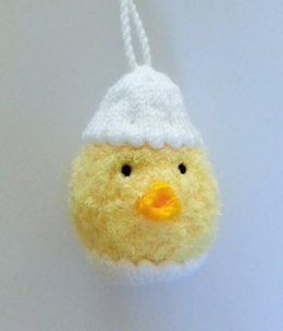Hatching Chick Easter Bauble