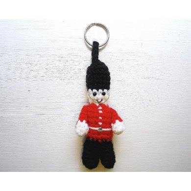 Queen's Guard key chain