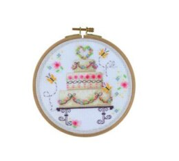 Creative World of Crafts Wedding Delights Cross Stitch Kit (15.5cm)