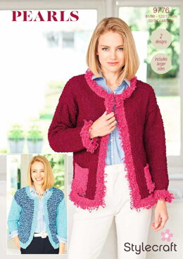 Jackets in Stylecraft Pearls - 9776 - Downloadable PDF