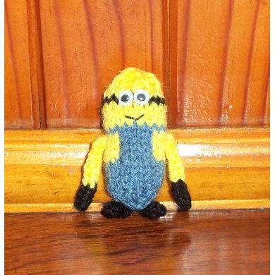 25 Inch Minion Knitting Pattern By Candice Le Grange
