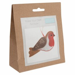 Groves Felt Decoration Kit: Robin