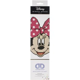 Diamond Dotz Diamond Embroidery Facet Art Kit - Disney Minnie Head