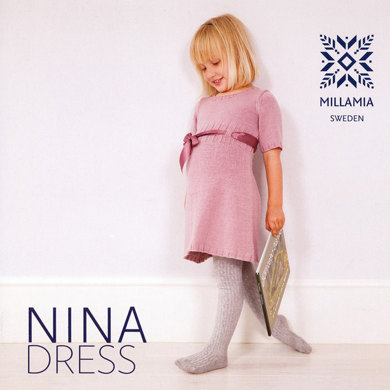 Girls' Nina Dress in MillaMia Merino Wool