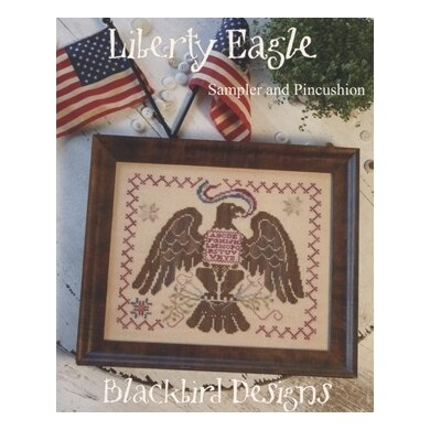 Blackbird Designs Liberty Eagle - BD219 - Leaflet