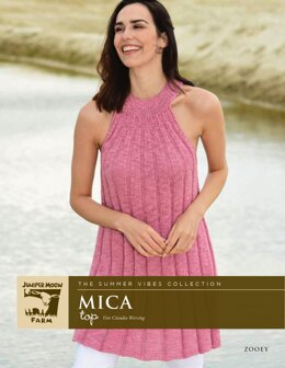 The Summer Vibes Collection Mica Top aus Juniper Moon Farm Zooey - 16667 - Downloadable PDF