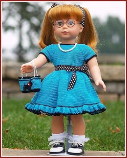 """Shopping With Grama for 18"""" Dolls"""