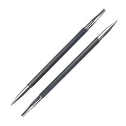 Knitter's Pride Karbonz Normal Interchangeable Needle Tips (1 pair)