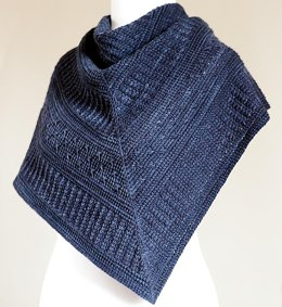 Winter Nocturne Shawl