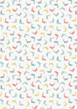 Lewis & Irene Spindrift Multi-twirling Dolphins Cut to Length