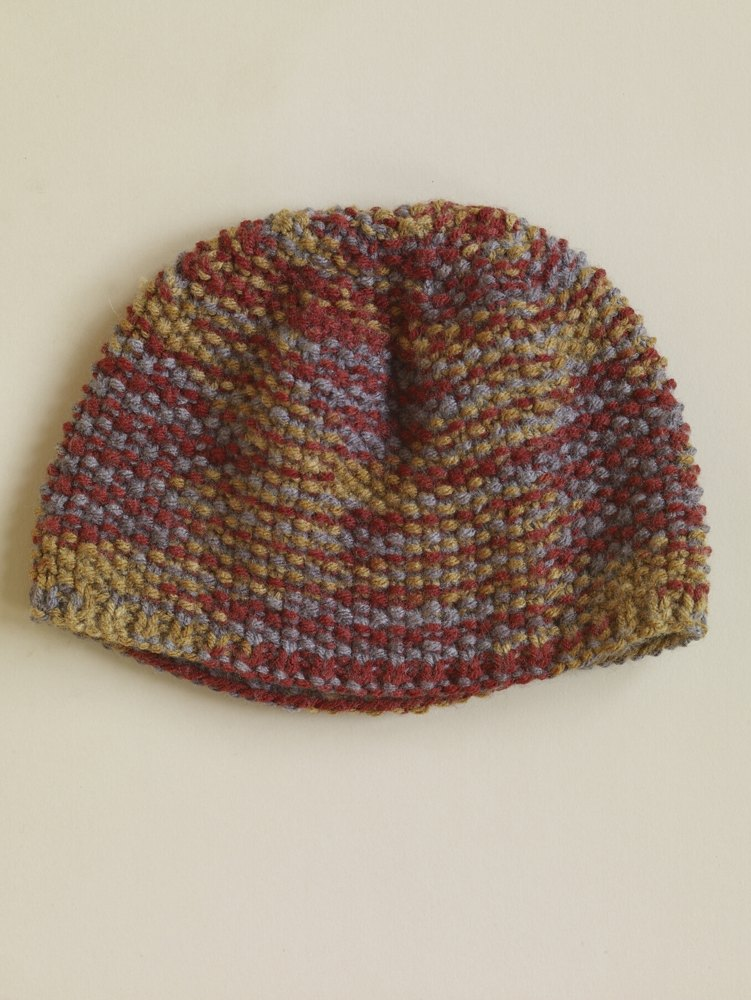Seed Stitch Hat In Lion Brand Vanna S Choice 60813ad