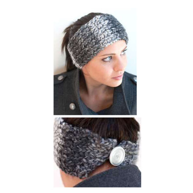 Buttoned Headband in Plymouth Essex - F553