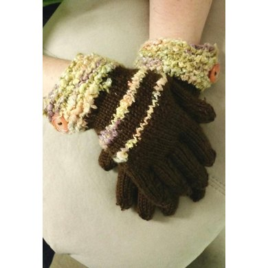 Fledgling Gloves with Chunky Cuff