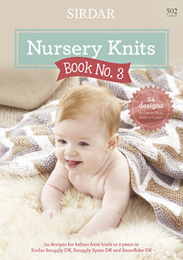 Nursery Knits  Book No. 3 by Sirdar