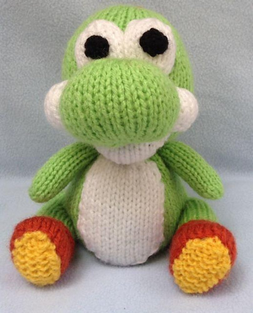 Knitting Pattern Yoshi : Yoshi Choc Orange Cover / Toy Knitting pattern by Andrew Lucas