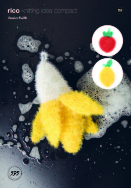 Banana, Strawberry and Lemon Scrubbers in Rico Creative Bubble - 595 - Leaflet