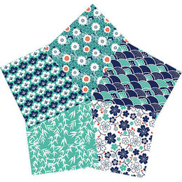 Craft Cotton Company Kyoto Fat Quarter Bundle - Blossom
