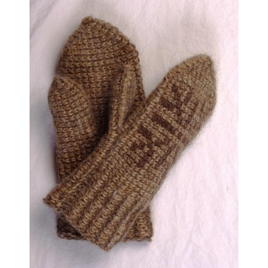Spring- and autumn mittens