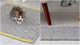 Rugs Knitting Pattern 2 Different Floor Rugs For the Home