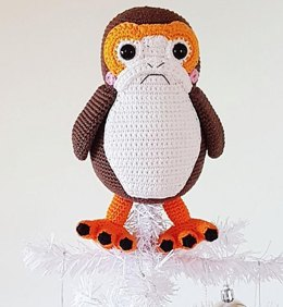 Porg Christmas Tree Topper