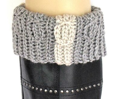 Lucky Twists Boot Cuffs