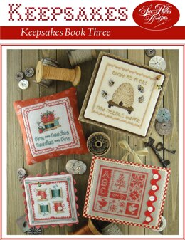 Sue Hillis Designs Keepsakes Three - L514 - Leaflet