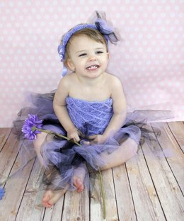 Tutu Tube Dress and Headband