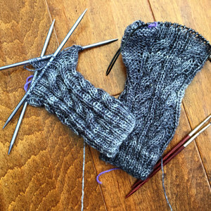 Temperature Scarf Knitting Project By Natalie Loveknitting