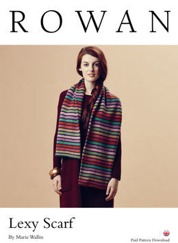 Lexy Scarf in Rowan Pure Wool Worsted