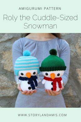 Cuddle-Sized Roly the Snowman