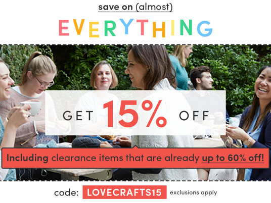 Get 15 percent off (almost) everything! Code: LOVECRAFTS15