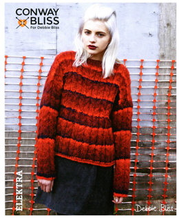 Cable Sweater in C+B Elektra - CB012