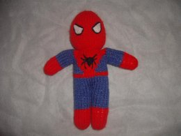 Knitted Spiderman