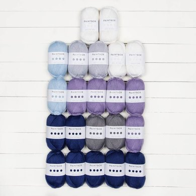 Paintbox Yarns Wool Mix Aran Small Amour Afghan 22 Ball Project Pack