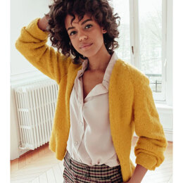 Melusine Cardigan in Phildar Phil Gourmand - Downloadable PDF