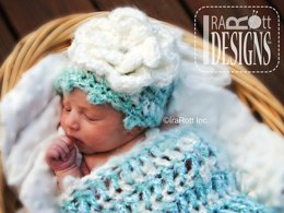 Fleecy Cloud Cocoon & Beanie Set